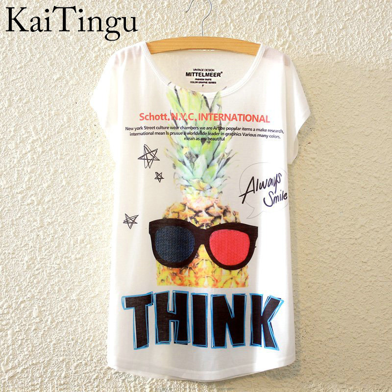 HTB13uNwLpXXXXXpapXXq6xXFXXXW - New Fashion Summer Animal Cat Print Shirt O-Neck Short Sleeve T Shirt