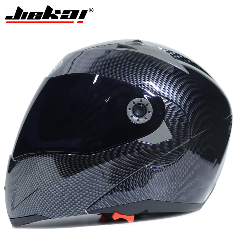 Free shipping Safe Flip Up Motorcycle motorcross motorbike Helmet With Inner Sun Visor JIEKAI 105 DOT