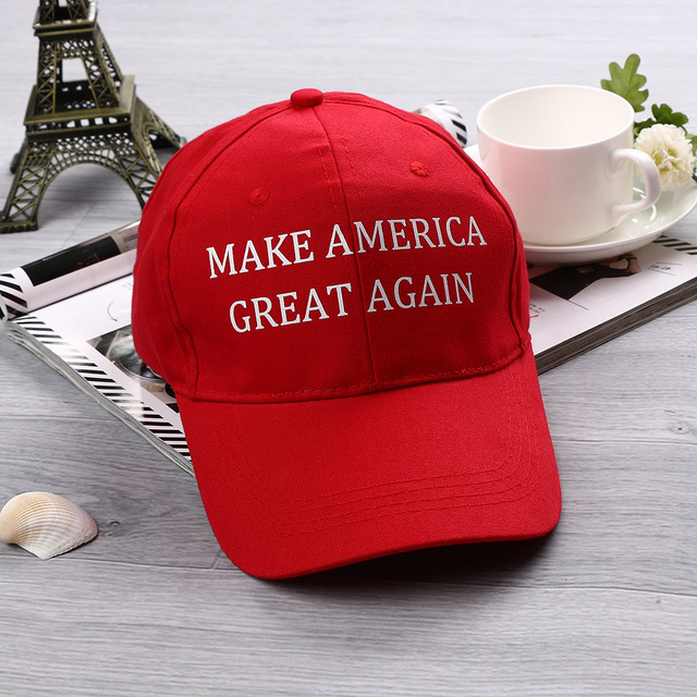 1PC Make America Great Again Hat Donald Trump Republican Hat Cap Red Embroidered  America President Hat b51f637beb0d