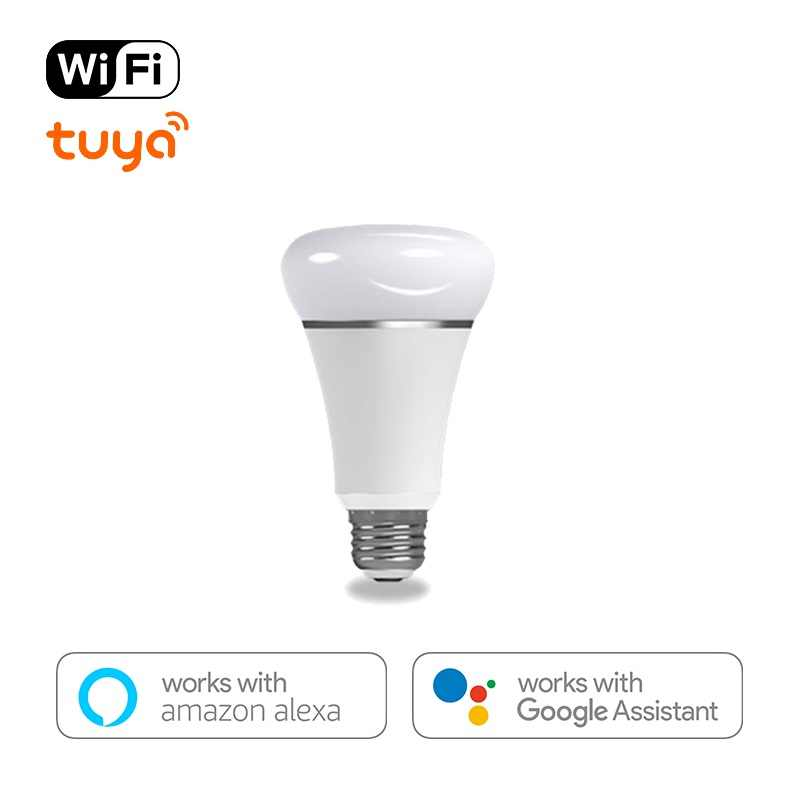 WiFi ampoule LED intelligente E27 andriod 2.3 ou IOS8.0 Wifi APP télécommande température de couleur/RGBW chronométrage ampoule maison lampe