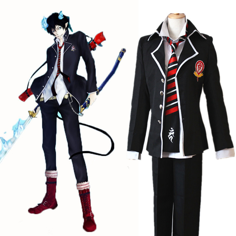 Blue Exorcist Boots Or Dress Shoes