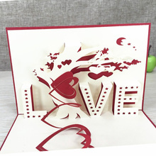 3D Pop-Up Greeting Cards with Envelopes