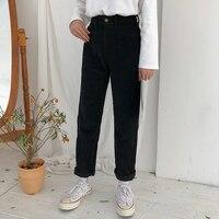 4 colors S L 2018 spring sweet solid color high waist pants wid leg trousers women corduroy pants (X732)