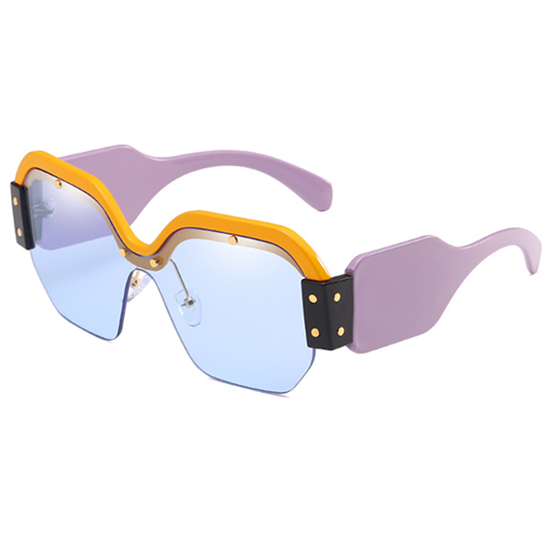 Sunglasses Women Fashion Brand Designer Oversized Sun Glasses Ladies For Luxury UV400 Gradient Female Oculos de sol Shades RS575 in Women 39 s Sunglasses from Apparel Accessories