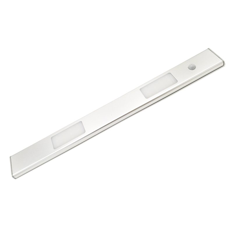 40cm 5W Human body induction rechargeable lithium battery PIR Motion infrared Sensor light kitchen led Cabinet led bar Light four leaf clover pir motion sensor led night light smart human body induction novelty battery usb closet cabinet toilet lamps