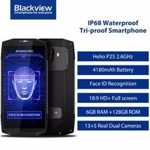"Blackview BV9000 Pro/BV9000 5,7 ""HD IP68 Wasserdicht Telefon MTK6757CD Octa-core Android 7.1 4/6 GB RAM 128 GB ROM Stoßfest Handy"
