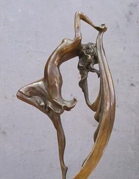 Antique bronze pur cuivre laiton 13