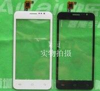 Original White 4 5 TeXet TM 4572 X Medium Smart Phone Touch Screen Panel Digitizer Glass