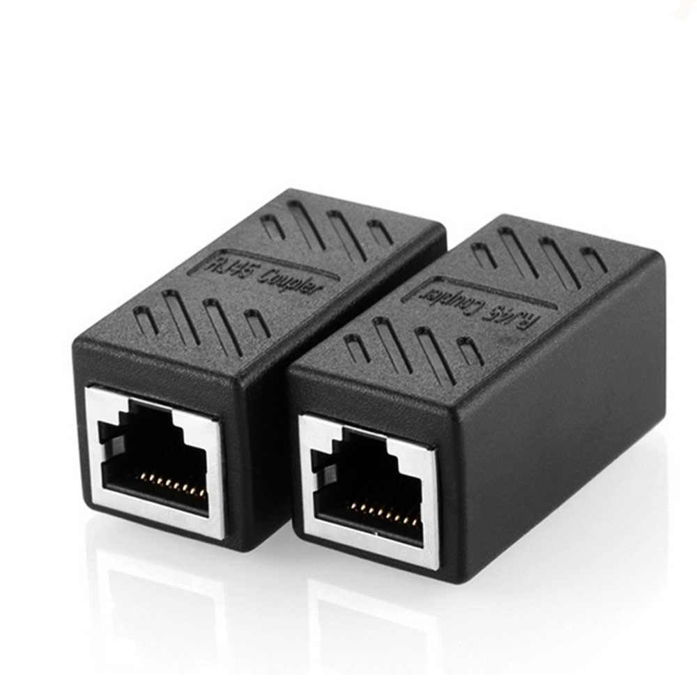 hight resolution of detail feedback questions about 2 pack rj45 coupler ethernet cable rj45 coupler 8p8c 8 pin cat5 coupler straight through wiring