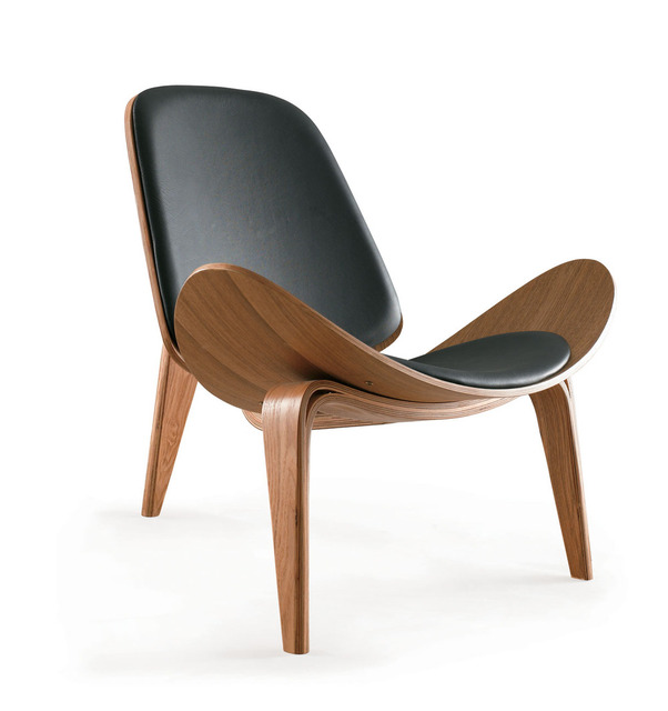 Gentil Aircraft Chair Triangle Shell Simple Wood Chair Armchair Bentwood Chairs  Designer Chair Burst