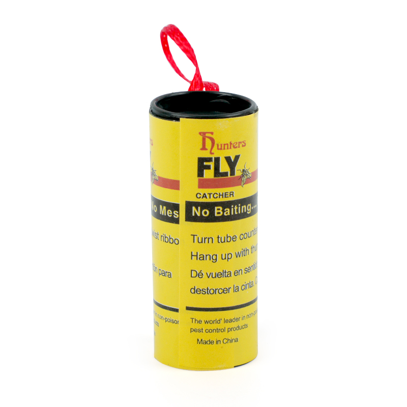 Image 5 - 4 Rolls Fly Glue Paper Pest Control Housefly Killer Insect Bug Catcher Trap Ribbon Strip Sticky Fies Summer Tools-in Traps from Home & Garden