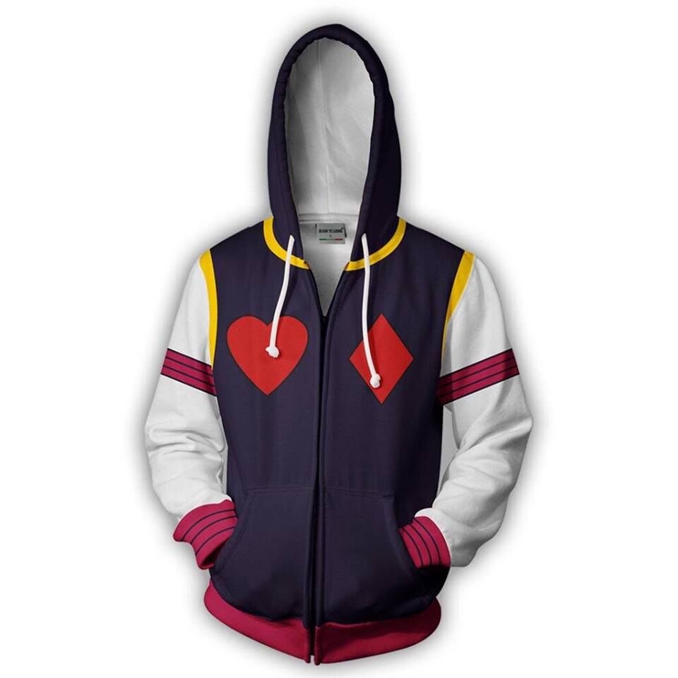 BIANYILONG 2019 new men hooded HIsoka 3D printed hoodies sweatshirt Casual zipper hoody hip hop tops