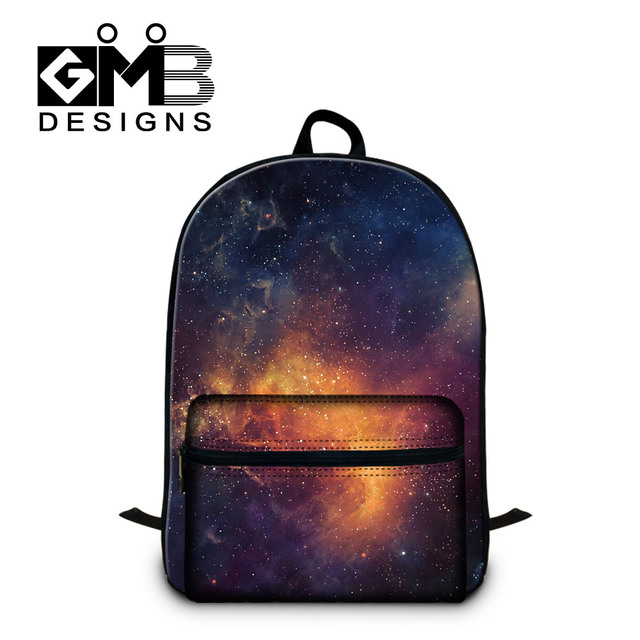 Dispalang Men Women Laptop Backpack Galaxy Star Universe Space Print  Children School Bags For College Students Mochila Feminina. Price  672d15aa1db01