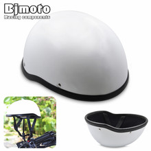 Bjmoto Universal Motorcycle biker Half Open Face Helmet Protection Scooter