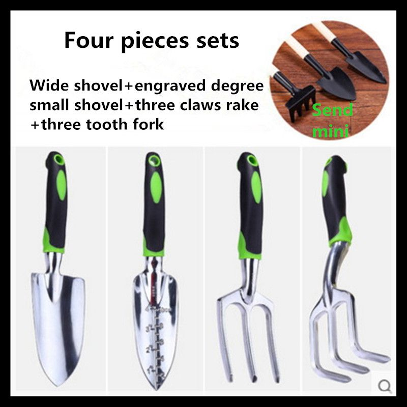 Garden tools gardening tools garden tools (four pieces sets )