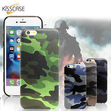 KISSCASE For iPhone 6 6s 7 7s Plus Case Army Camo Camouflage Cover For iPhone 5 5s SE Slim PU Acrylic Shell For iPhone 6 6s Plus все цены