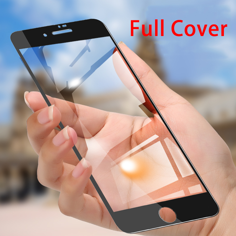3D Protective Glass For Iphone X Screen Protector For Iphone 7 Tempered Glass On I Phone 6 6S 7 8 Plus XR XS Max Full Cover Glas