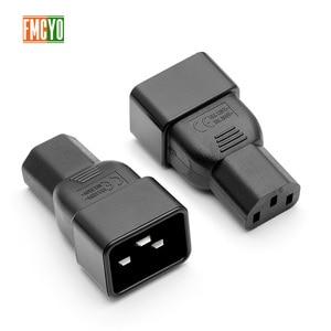Image 4 - PDU power conversion plug 10a te 16A drie verticale gat om drie horizontale ce certificering woord connector C13 om C20 hoofd