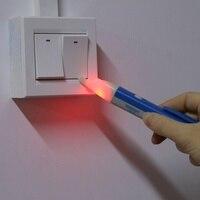 Novelty LED Light AC Electric Voltage Tester Pen Detector 90-1000V Sensor AC Outlet Voltage Outlet Detector [category]
