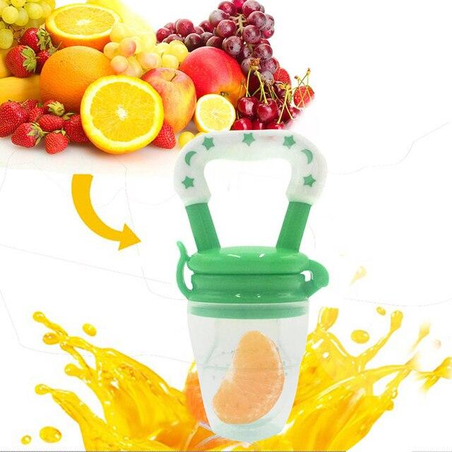 Výsledok vyhľadávania obrázkov pre dopyt 1Pcs Baby Pacifier Fresh Food Milk Nibbler Feeder Kids Nipple Feeding Safe Baby Supplies Nipple Teat Pacifier Bottles
