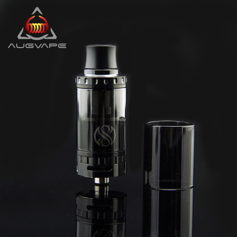 Augvape Original Atomizer Glass 23mm Diameter 47mm Height Glass for Merlin RTA 4ML Atomizer Tank Replace Glass Tube 3pcs/lot