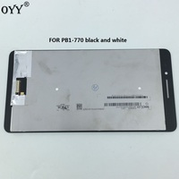 LCD Display + Touch Screen Digitizer Glass Assembly Replacement Parts For Lenovo PHAB Plus PB1 770 PB1 770M PB1 770N/P