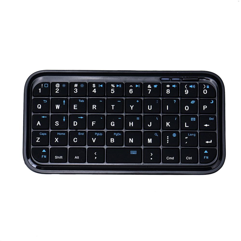 Mini Portablet Rechargeable Bluetooth Wireless Keyboard For iPad-Laptop PC Android Tab PS3 BK 20J 49 Keys Mini Kdyboard