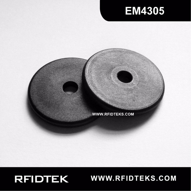 US $1000 0 |G30MMB RFID Industry Tag RFID Laundry Tag for Asset tracking  134 2KHZ 512bit R/W EM ISO11754/11785 FDX B with EM4305 Chip-in Access