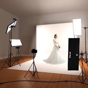 Image 2 - Travor Flex Headshot lumière vidéo photographie éclairage réglable grande puissance 100W 5500K CRI95 avec télécommande sans fil 2.4G