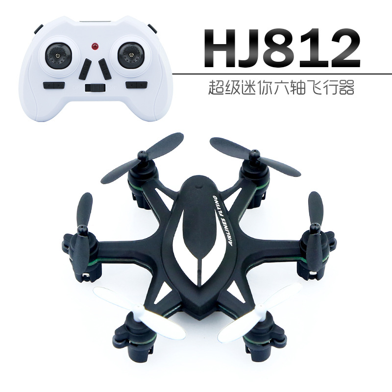 Amazing Huajun HJ812 Mini pocket rc drone remote control model aircraft flying toy kid's gift for children