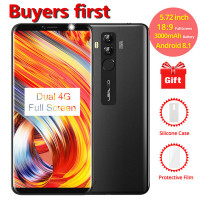 new Leagoo M9 Pro 18:9 5.72 4G LTE Smartphone Android 8.1 MT6739V Quad Core 2GB RAM 16GB ROM 13MP Face ID 3000mAh Mobile Phone