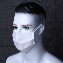 Moledodo Disposable Mouth Masks Industrial Non-woven Dust Protection Supplies Against Smog Medical Face