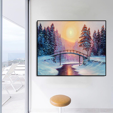 Pines Sun Scenery Famous Oil Painting Wall Art Poster Print Canvas Painting Calligraphy Decor Picture for Living Room Home Decor цена