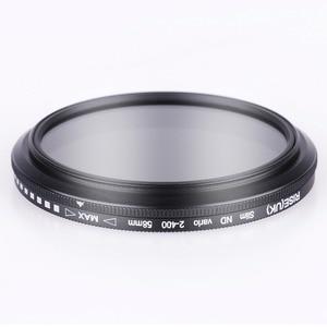 Image 4 - 52mm ND2 400 צפיפות ניטרלי מדעך משתנה ND מסנן מתכוונן עבור Fujifilm X T100 X A20 X A5 XA20 XA5 XT100 עם 15  45mm עדשה