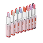 8 color gradient color Korean Bite Lipstick V Cutting Two Tone Tint Silky Moisturzing Nourishing Lipsticks Balm Lip Cosmetic