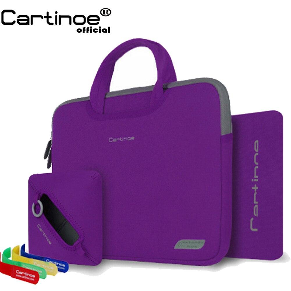 Draagbare laptop tas 11 12 13 14 15 inch computer sleeve tas mannen - Notebook accessoires