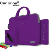 Portable Laptop bag 11 12 13 14 15 inch Computer Sleeve Bag men women Handbag business Briefcase case for Macbook Air 11 Pro 13
