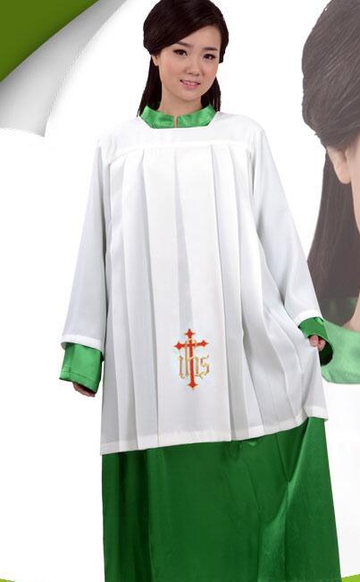 Norme européenne Robe de cérémonie rituelle de l'église du - Vêtements nationaux - Photo 2