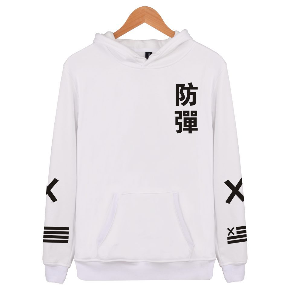 2018 GOT7 Sweatershirt Hooded Fashion Autumn and Spring Men and Women Couple Clothes Inner Soft