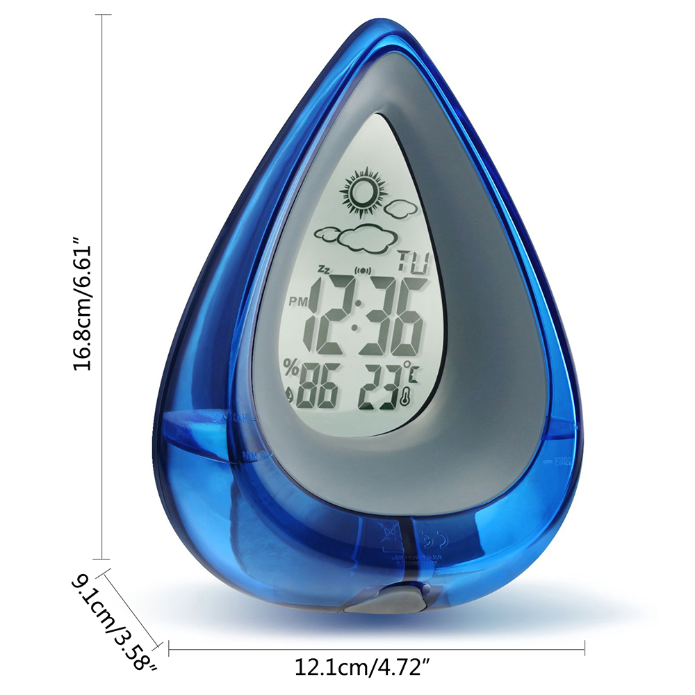 Water Powered Eco-friendly Digital Clock 28