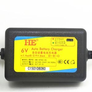 Image 3 - DC7.2V 1A 6 โวลต์ของเล่นสมาร์ทรถชาร์จ agm lead acid แบตเตอรี่ 6 โวลต์สำหรับแบตเตอรี่ 4ah 4.5ah 7ah 10ah 12ah eu/us plug