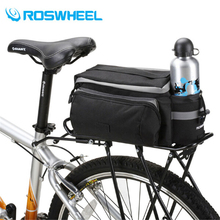 New Multifunctional ROSWHEEL Mountain Bike Saddle Basket Bicycle Rear Rack Bag Becicle Bicycle Pack Trunk Pannier Bycicle Bag
