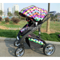 Hot-selling baby stroller,Ultra spring shock absorbation baby pram,SGS was approved