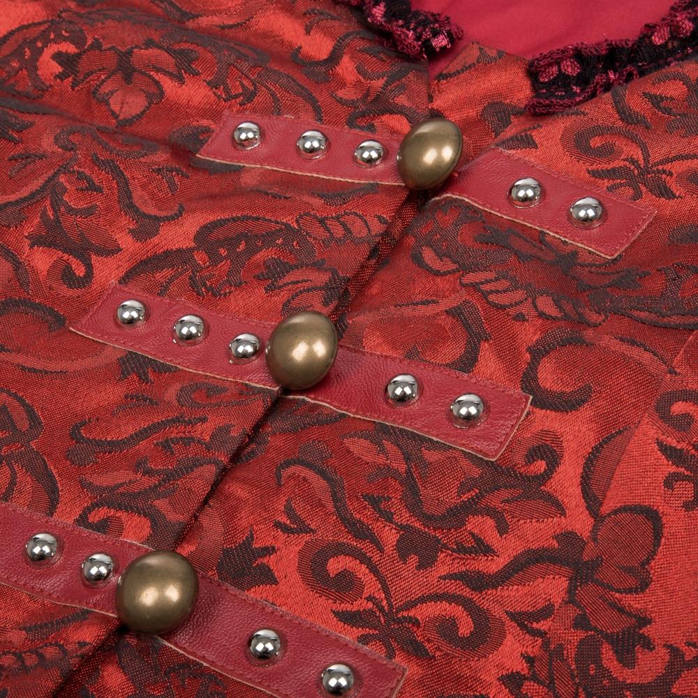 Winter Autumn Bomber Jacket Women Coat Tops 2017 Long Sleeve Retro Vintage Victorian Corset Lace Up Slim Gothic Jacket Overcoats