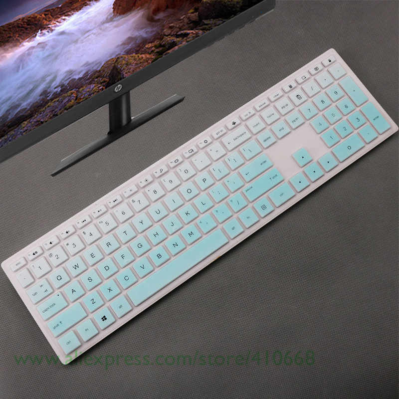Desktop Keyboard Penutup Pelindung Kulit Komputer untuk HP Pavilion All-In-One PC 24-xa 24-xa0002a 24-xa0300nd 24-xa0051hk 23.8 inci