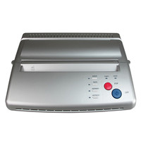 Tattoo Copier 1Pcs Silver Tattoo Flash Thermal Transfer Copier Machine Stencil Maker For A4 Paper Printer