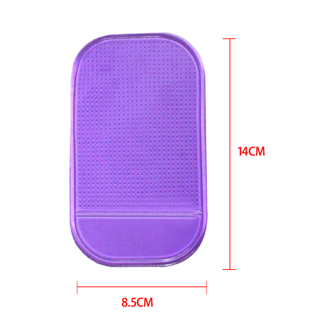 4pcs Styling Sticky Gel Pad Holder Magic Dashboard Silicone Anti Non Slip Mat Car Accessories Car for Gadget Phone