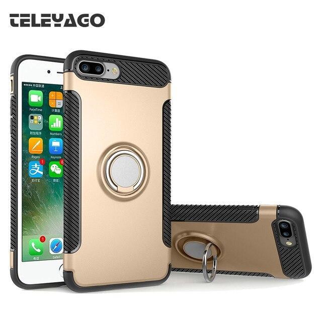 iphone 8 plus case hard ring