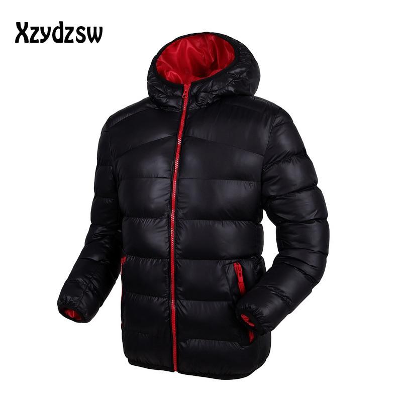 2016 Hot Sale Brand Down Jacket Men Winter Jacket Men Warm Duck Down Coat Hooded Jacket Jaqueta Masculina Chaqueta Hombre