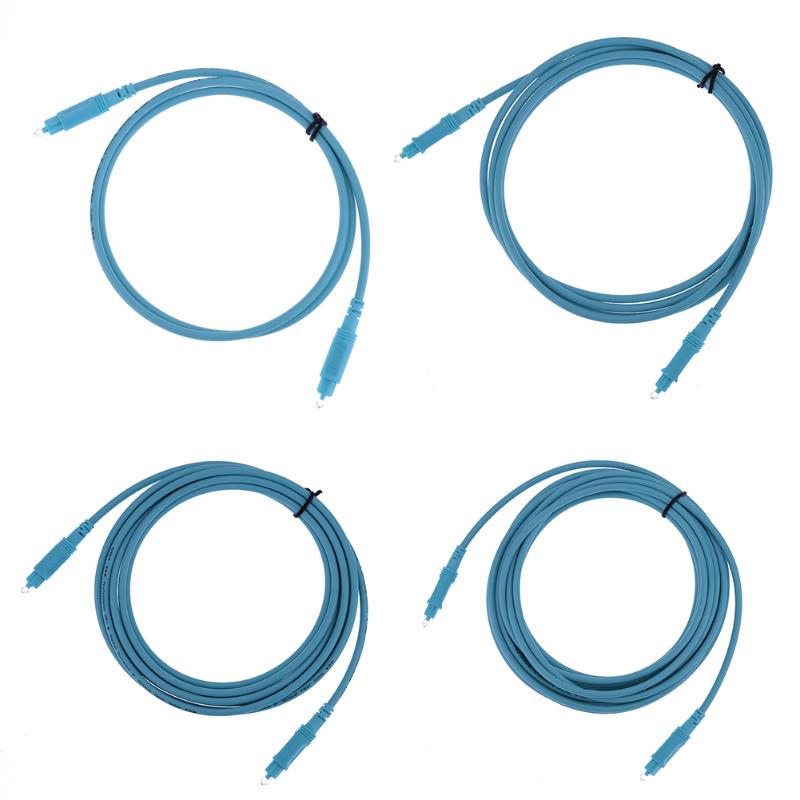 1m 2m 3m 5m OD4.0 Digital Optical Audio Toslink Cable for Hi-Fi Sound DVI amplifier Speaker Blue Ray Player Audio Cables